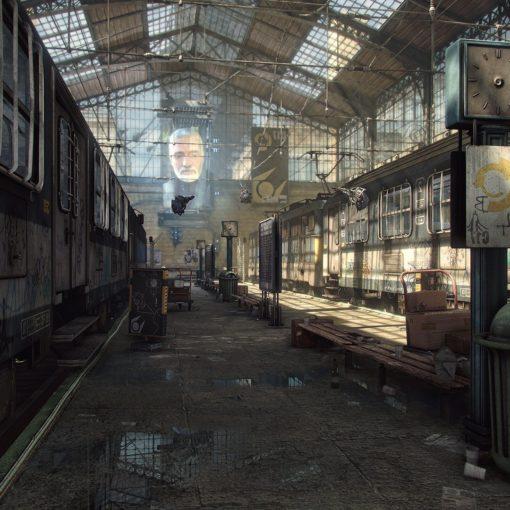 Half-Life 2 отлично смотрится с Unreal Engine 3