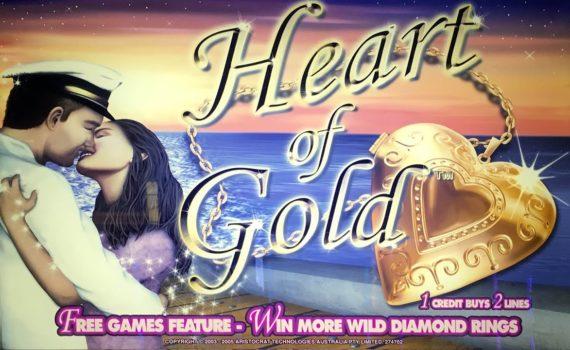 Видеослот Heart of Gold