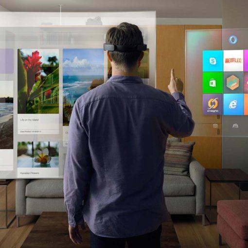 Компания Microsoft инвестировала в носимые устройства дополненной реальности