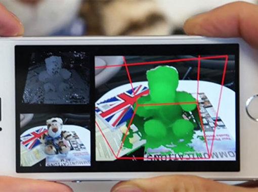 MobileFusion: создание трёхмерного макета