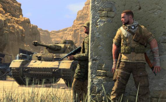 Sniper Elite 3 предоставит британскому комику возможность застрелить себя