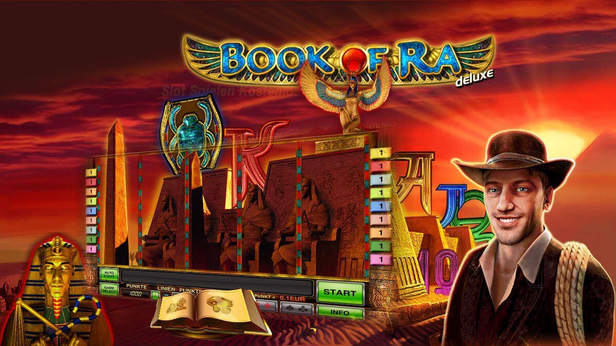 Лучшие слоты клуба Вулкан: Book of Ra