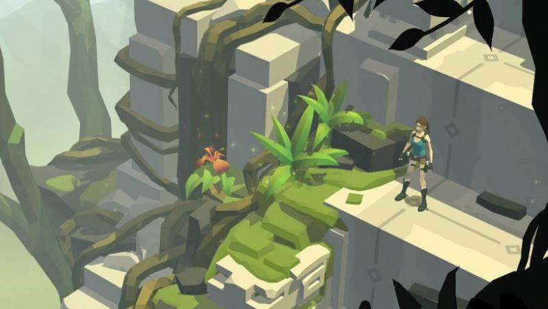 Lara Croft Go: мобильная пошаговая стратегия
