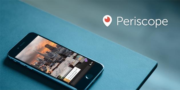 Приложение Periscope - новая социальная сеть