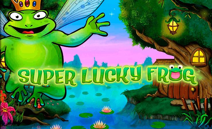 Знаменитая игра Super Lucky Frog (слот Лягушки)